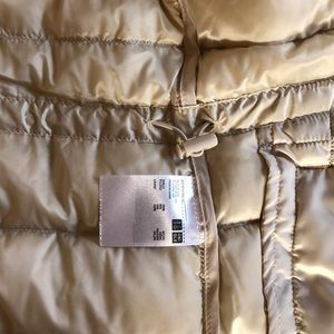 Uniqlo Jackets & Coats - Uniqlo Cream Down Vest
